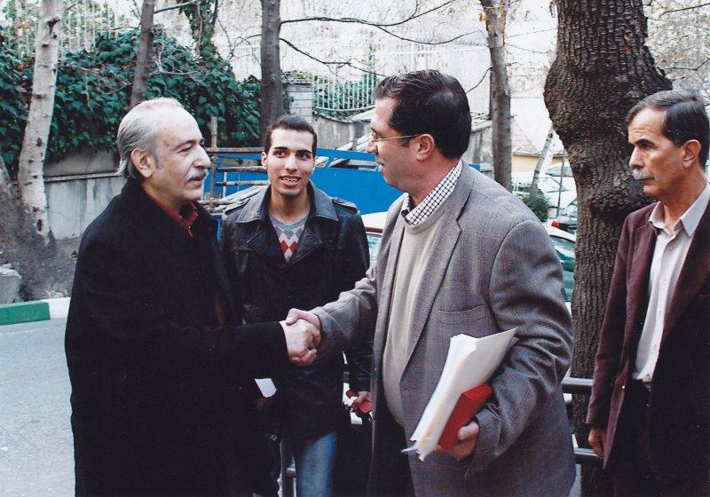 با بهاءالدین خرمشاهی ـ بهمن 91