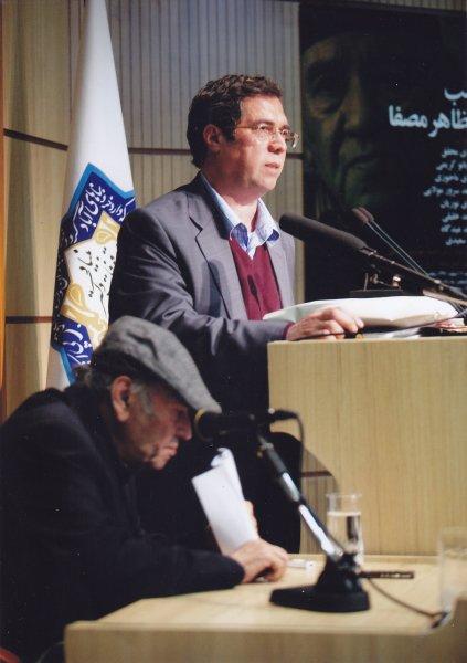 سخنرانی در شب مظاهر مصفا ـ 16 اسفند 91