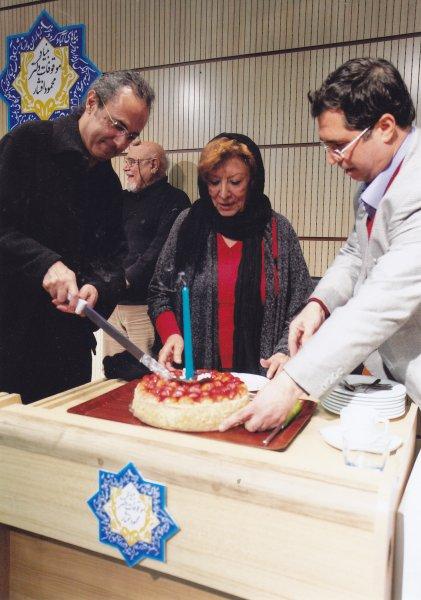 جشن هشتاد سالگی پری صابری با تیمور شیرینلو ـ 17 بهمن 1392