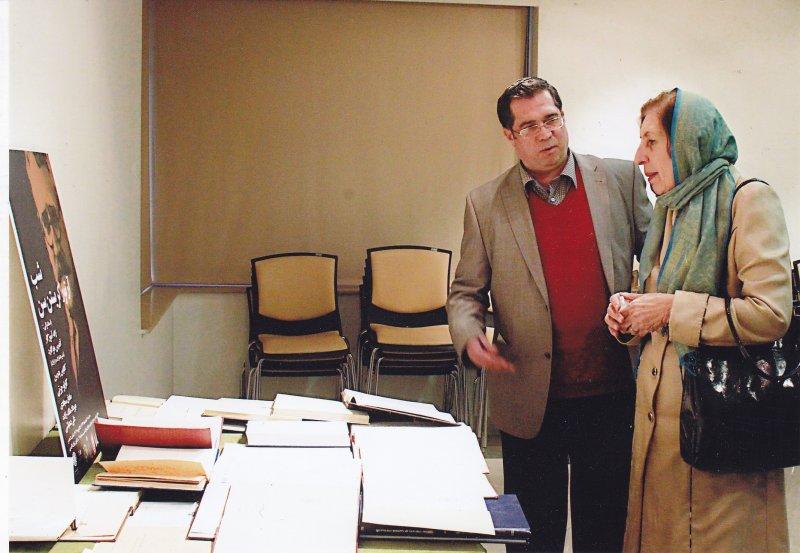 با دکتر ژاله آموزگار ـ سه شنبه 4 اسفند 1392 ـ شب آرتور کریستن سن
