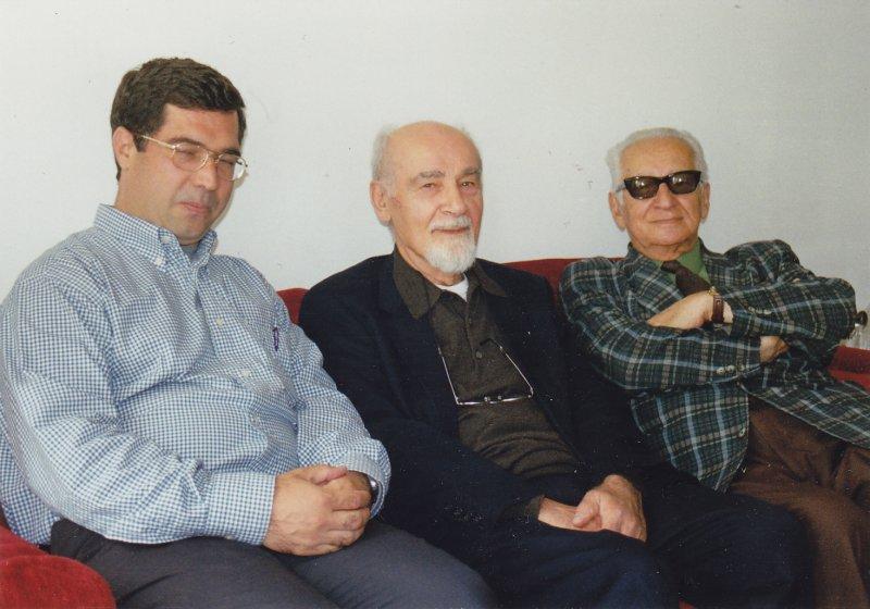 پاریس ـ هوشنگ منتصری، علی اصغر حاج سیدجوادی و علی دهباشی