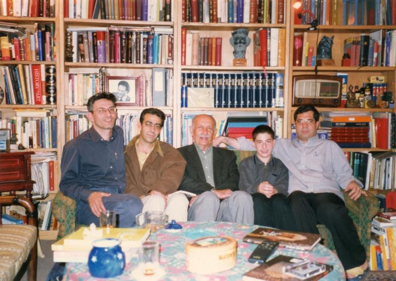 علی دهبا شی . شهاب دهباشی . مرتضی احمدی . محسن طباطبا یی و شفق سعد