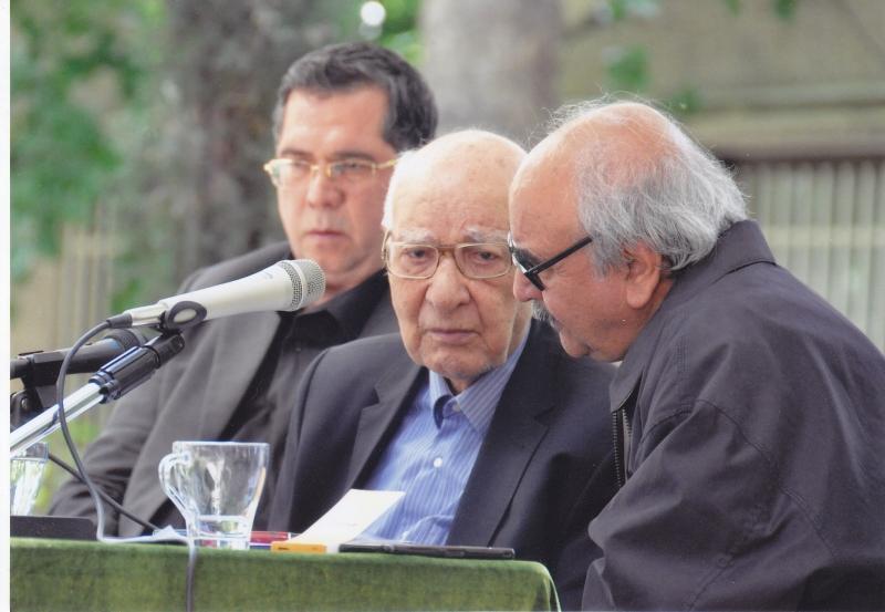 با دکتر شفیعی کدکنی و سلیم نیساری 31 اردیبهشت 94