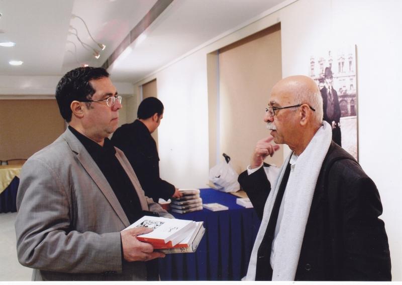 با علی اصغر حداد در شب کافکا ـ 9 آذر 1393