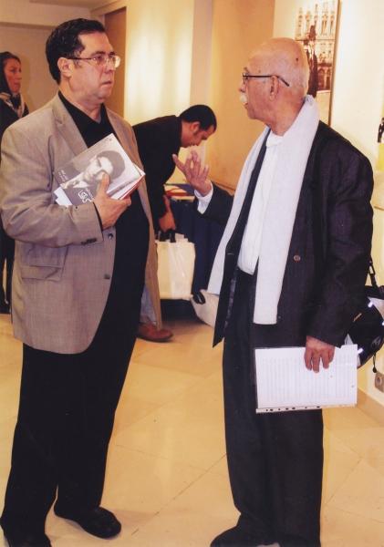 با علی اصغر حداد در شب کافکا ـ 9آذر 1393