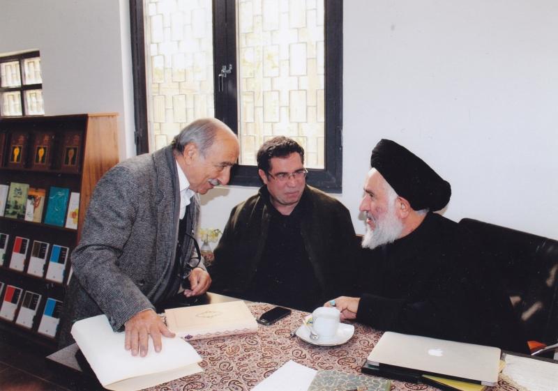 در کتابفروشی آینده به همراه دکتر سید مصطفی محقق داماد و کریم اصفهانیان ـ آبان 93