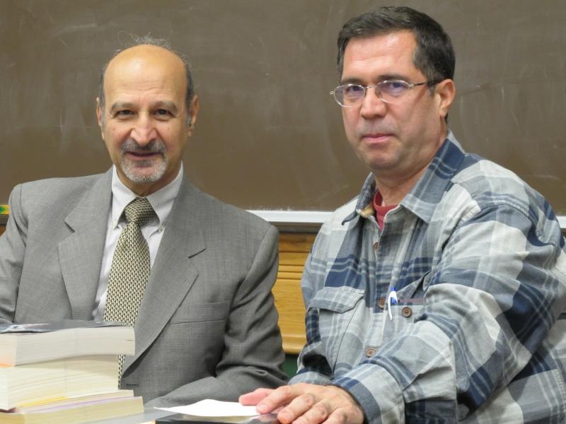 با دکتر حسن لاهوتی ـ اکتبر 2010