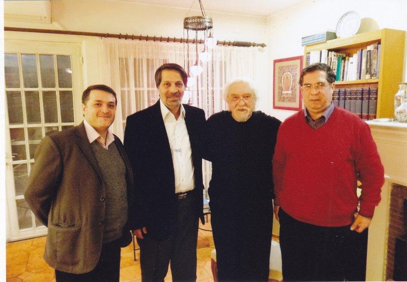 فروردین 93 ـ محمد قوچانی، عمادالدین باقی، دکتر داریوش شایگان و علی دهباشی