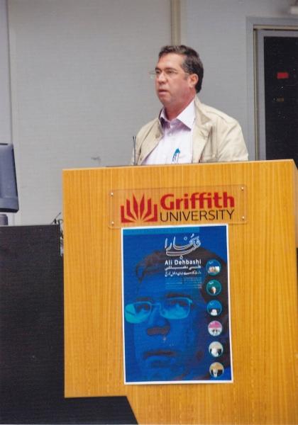 سخنرانی در دانشگاه گریفیث ـ شنبه هفدهم خرداد 1393 ـ هفتم ژوئن 2014