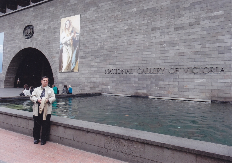 دیدار از نشنال گالری ویکتوریا در شهر ملبورن ـ یکشنبه 11 خرداد 93 ـ 1 ژوئن 2014