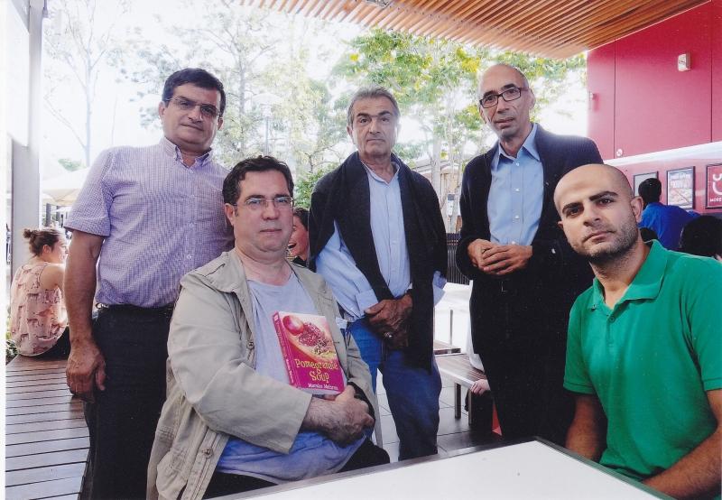 دانشگاه بریزبین ـ چهارشنبه 14 خرداد 93 ـ 4 ژوئن 2014 با امیر آحمدی آریان ـ غلامرضا عدل و مهرداد و مهران رفیعی