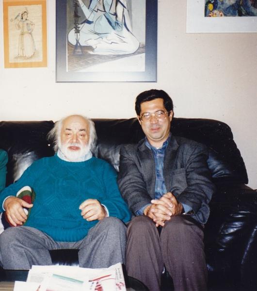 لی ـ السریتو، منزل صادق چوبک