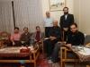 با گروه مستندساز در منزل استاد باستانی پاریزی