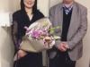 یکشنبه 18 آبان 93 با خانم چی گو اوکادا سرپرست کر تلویزیون N.H.K