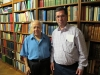 با منوچهر کاشف در ایرانیکا (نیویورک) اکتبر 2010