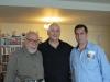علی دهباشی، بهمن شعله ور و دکتر احمد مهدوی دامغانی پنسیلوانیا 2010