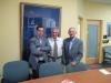 احمد کاظم موسوی، احمد کریمی حکاک و علی دهباشی ـ دانشگاه مریلند اکتبر 2010