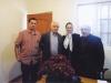 عزت الله انتظامی، ناهید طباطبائی، دکتر طباطبائی و علی دهباشی