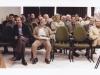انجمن صنفی روزنامه نگاران از راست به چپ : فیروزگوران، علی دهباشی، عیسی سحرخیز، کامبیز نوروزی ـ 12/2/1388
