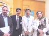 دکتر ژاله آموزگار، بهرام و آرش افشار، دکتر همایون کاتوزیان