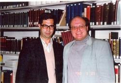 دانشگاه بامبرگ ـ ژانویه 1990 ( 1369) با پروفسور فراگنر