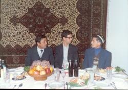 تاجیکستان ـ بنیاد فرهنگ با گل رخسار ـ آبان 1370
