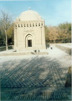 مزار امیر اسماعیل سامانی ـ آبان 1370