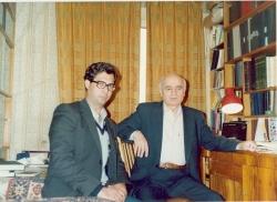 مسکو ـ آبان 70 با عثمان اف ـ مصحح شاهنامه چاپ مسکو