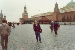 مسکو ـ میدان سرخ ـ مقبره لنین آبان 1370