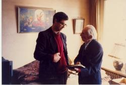 ژنو ـ آذر 1371 ـ دسامبر 1991 با سید محمد علی جمالزاده