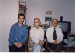 تیرماه 1377، دکتر علی فاضل ، دکتر محمد خوانساری و علی دهباشی