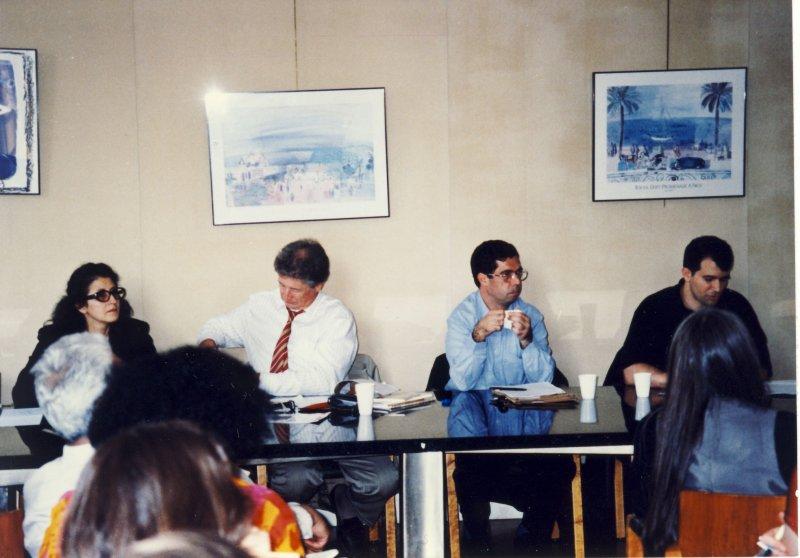 کنفرانس ایرانشناسان اروپا ـ شهریور 78 ـ پاریس ـ دهباشی، جهانگیر دری و نوشین یاوری
