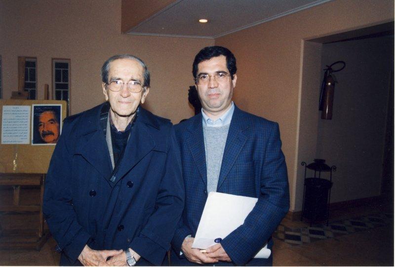 با احمد شهیدی ـ دهه 1380