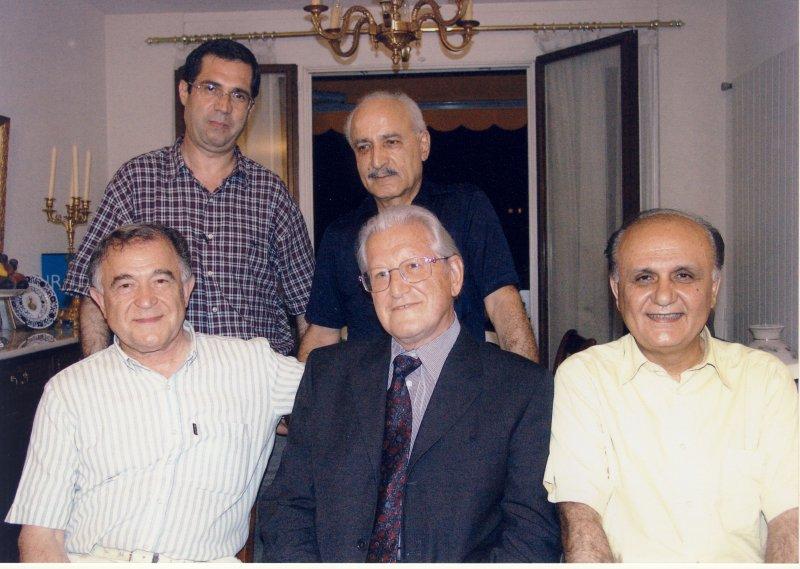 ژنو، ناصرالدین پروین ، پروفسور حسین صادقی، دکتر خوبروی پاک ایستاده ؟ و دهباشی ـ دهه 1380