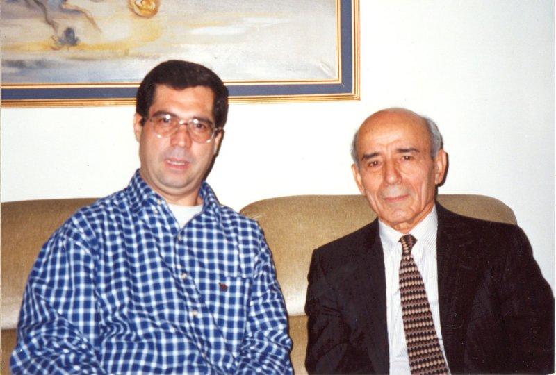 با دکتر منوچهر پارسادوست ـ دهه 1380