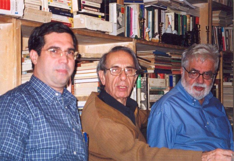 با دکتر جلال ستاری و دکتر احسان نراقی ـ 1382