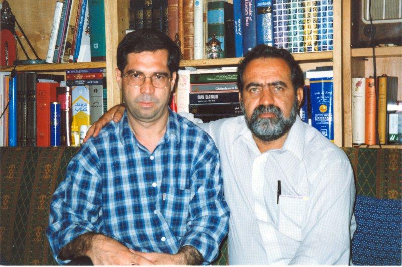 با دکتر حسن شایگان ـ دهه 1380