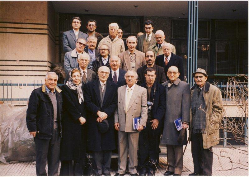 منزل دکتر محمد امین ریاحی ـ 30 بهمن 83 با گروهی از اهل قلم