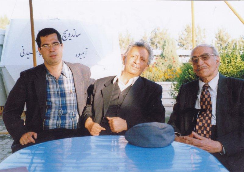با بیژن ترقی و علی تجویدی ـ دهه 1380