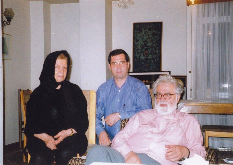 با قمر آریان و احسان نراقی ـ دهه 1380