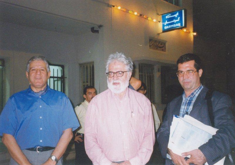 با محمود امامی و احسان نراقی ـ دهه 1380