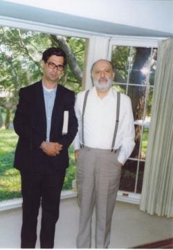 با دکتر حافظ فرمانفرماییان ـ دهه 1370