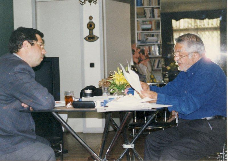 با عزت الله انتظامی ـ دهه 1380