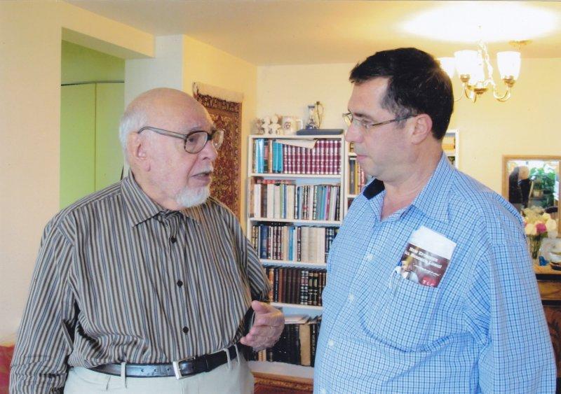 نسیلوانیا ـ با دکتر احمد مهدوی دامغانی خرداد 1389 ( سپتامبر 2010)