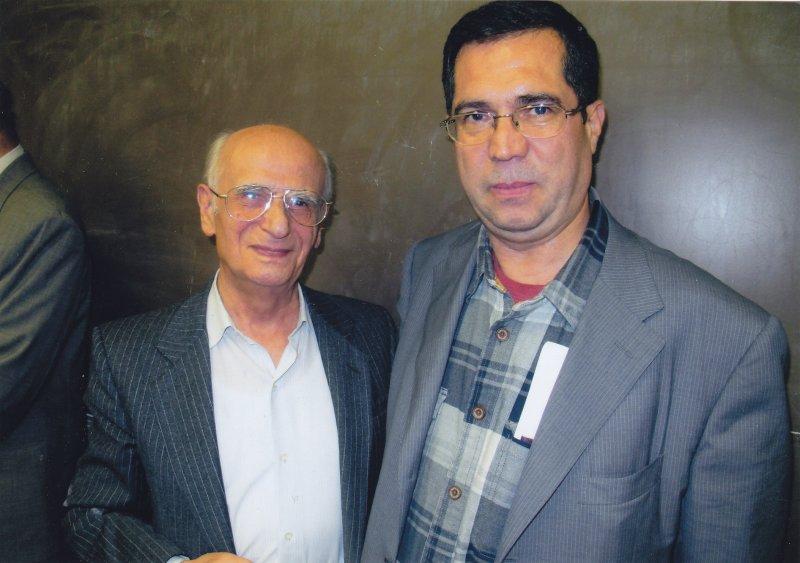 در جلسه سخن ـ دانشگاه شیکاگو با حشمت مؤید شهریور1389 سپتامبر 2010
