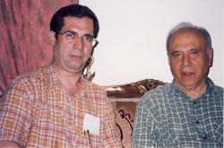با علیمحمد افغانی ( نویسنده رمان شوهر آهو خانم) ـ اوایل دهه 1380