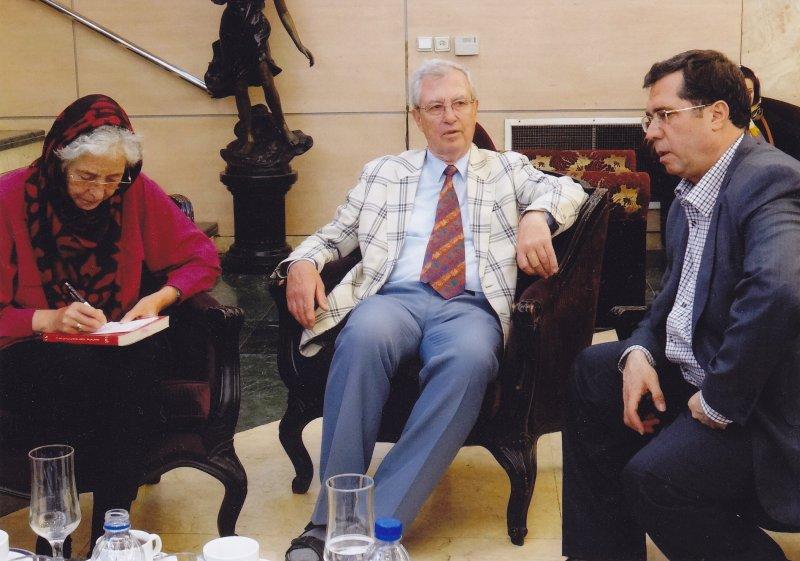 اسفند 91 با پروفسور هاید ماری کخ و همسرش