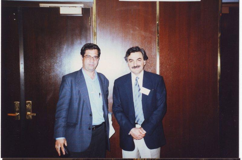 مریلند کنفرانس مطالعات ایرانی ( خرداد 1379 ـ ژوئن 2000) با دکتر علی بنوعزیزی