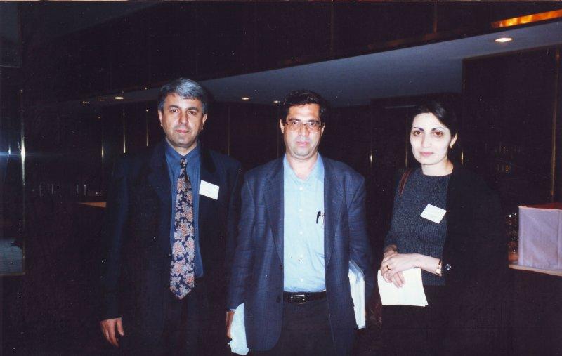 مریلند ـ کنفرانس مطالعات ایرانی ( خرداد 79) با دکتر گارنیک آساطوریان و همسرش