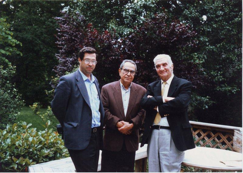ویرجینیا ( خرداد 79 ـ ژوئن 2000) با دکتر ناصر طهماسبی و کشاورز صدر